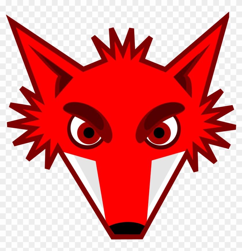 Big Image - Fox Head Clipart #138866