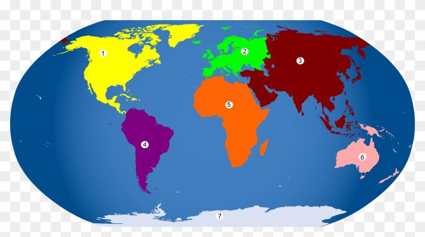 World Map Globe Clip Art - 2014 Fifa World Cup #138996