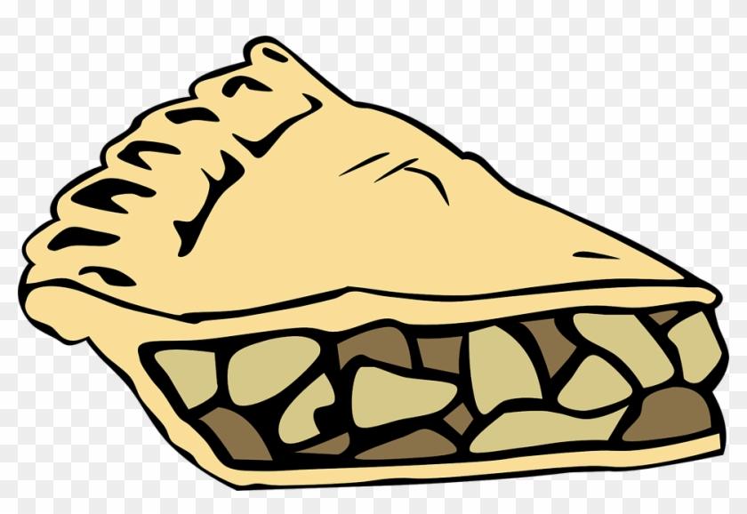 Apple Pie Clipart Transparent Free - Apple Pie Slice Clip Art #139101