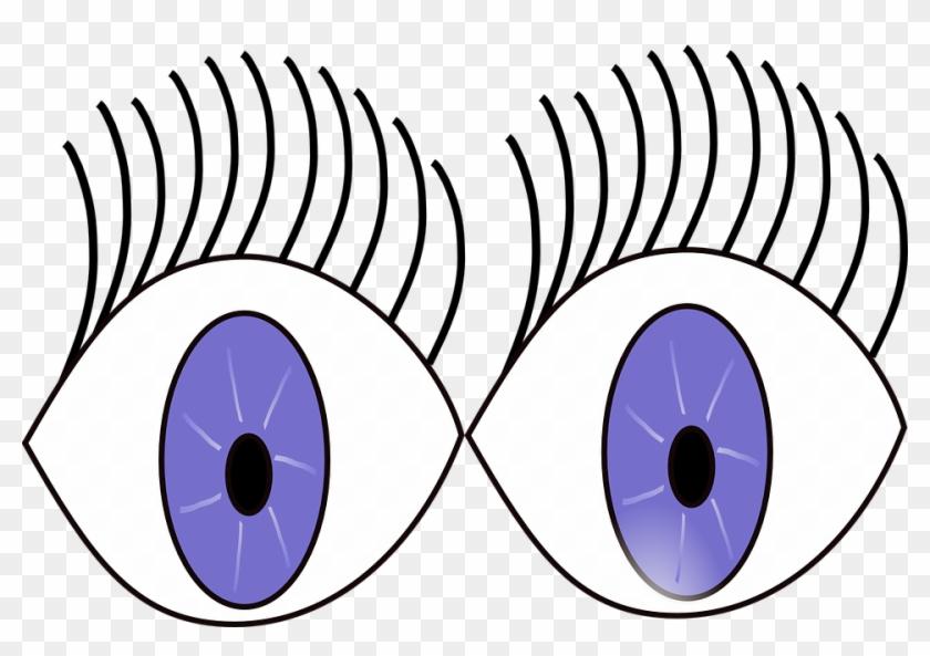 Eye Clipart Children's - Eyes Wide Open Cartoon #139171