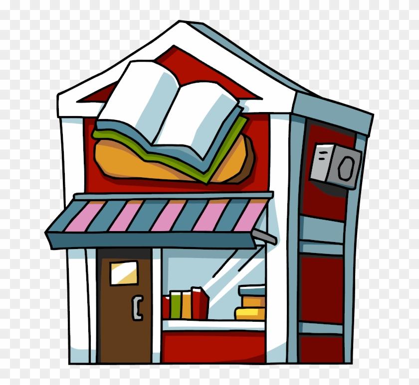Shop Book Clipart, Explore Pictures - Book Shop Clipart #139321