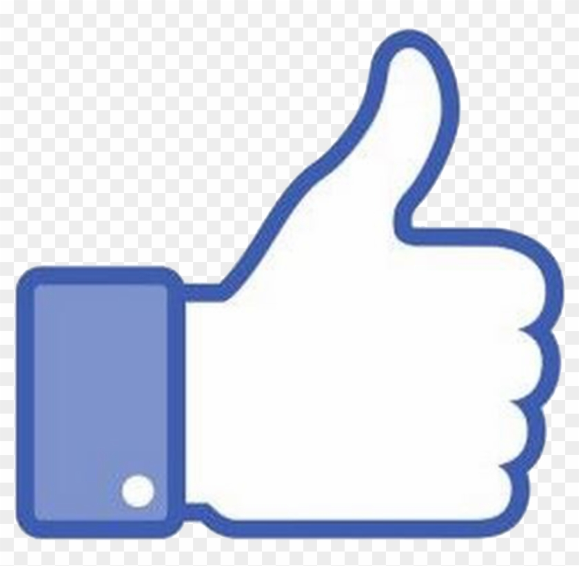 Png Clipart Youtube Like - Facebook Thumbs Up Png #139343