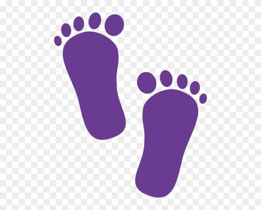 Baby Foot Prints Png #139370