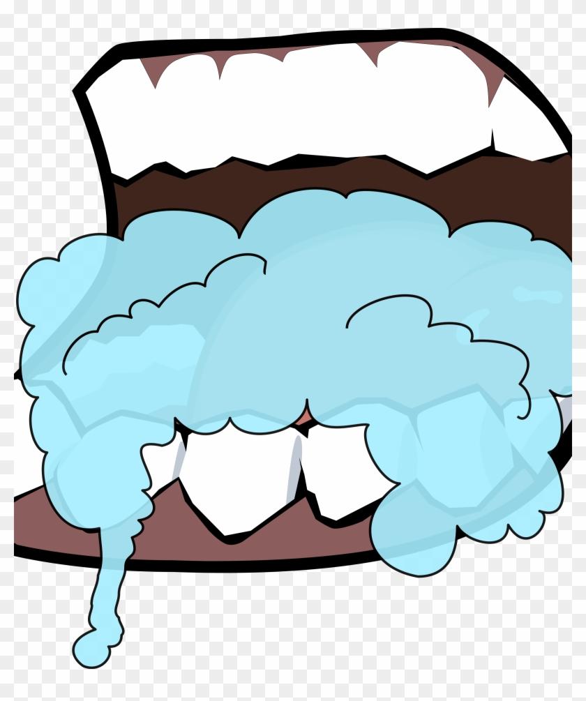 Similar Clip Art - Cartoon Man Foaming Mouth #139410