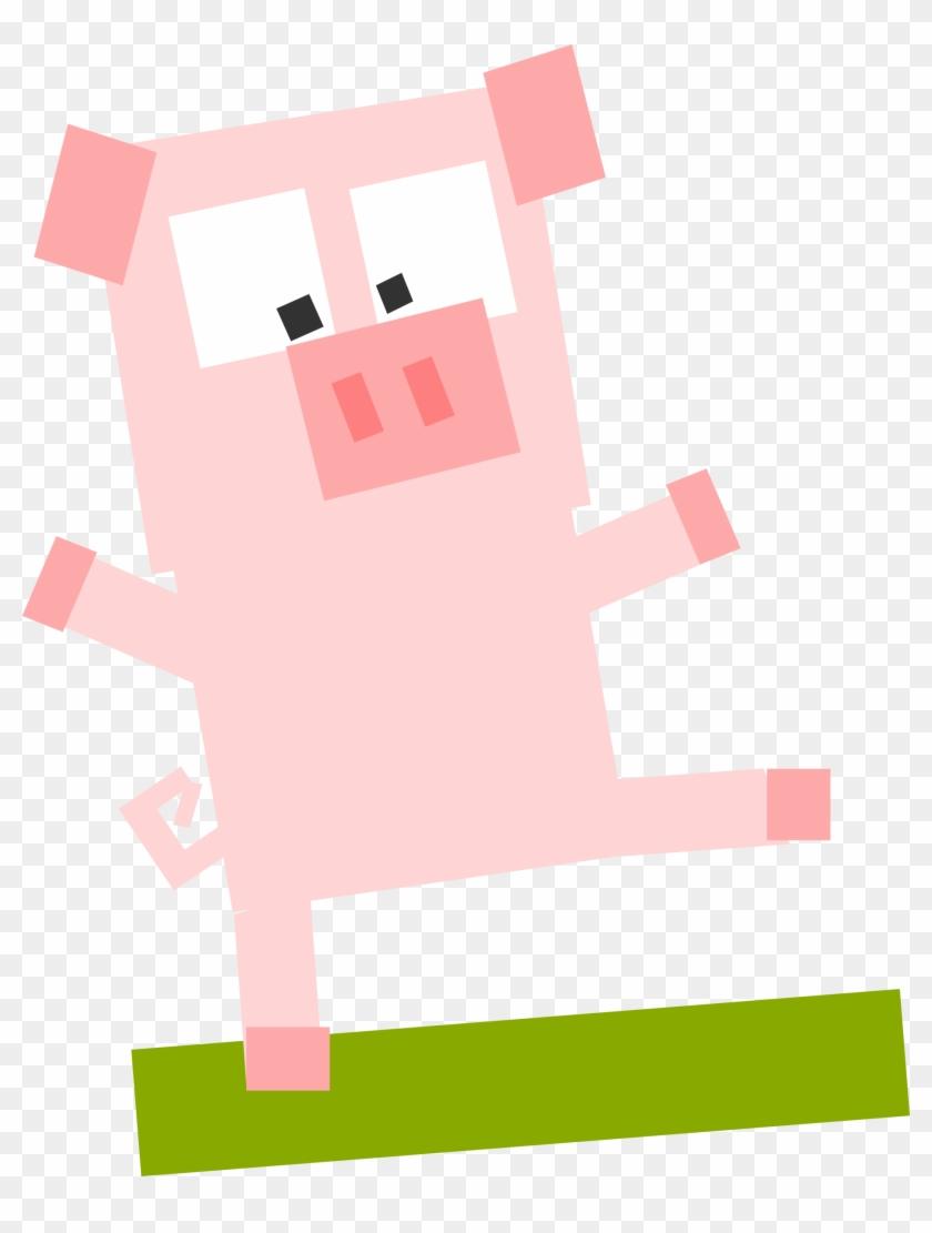 Square Pig - Custom Pig Avatar Pillow Case #139432