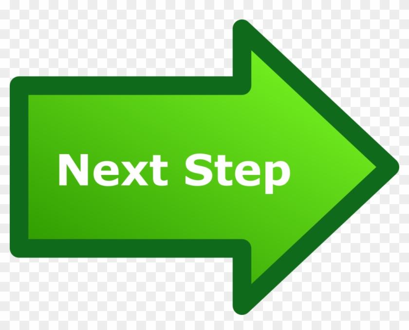 Next Step Arrow - Next Step Sign Png #139454