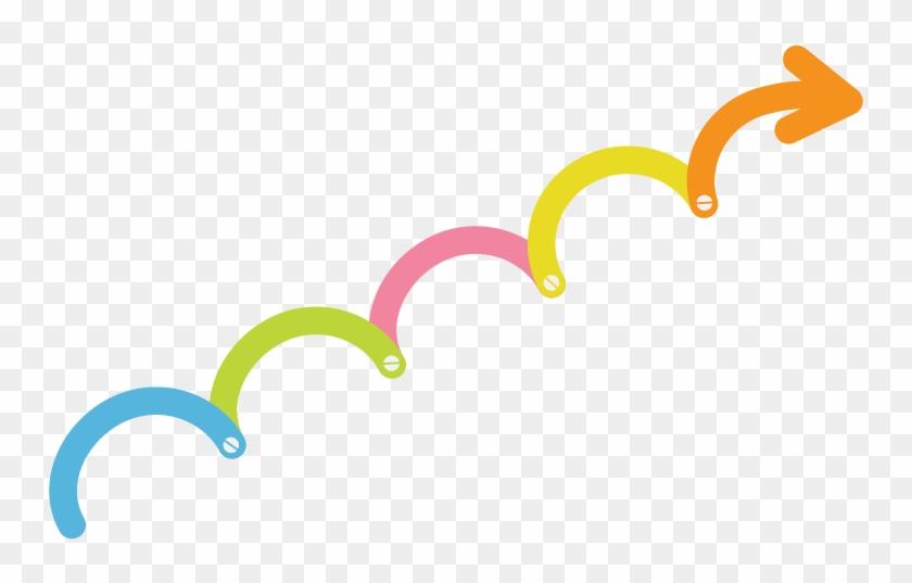 Steps - Timeline Arrow Template #139457