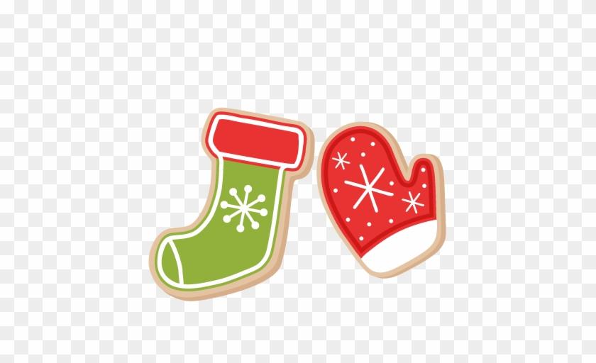 Christmas Cookies Scrapbook Clip Art Christmas Cut - Christmas Stocking #139634