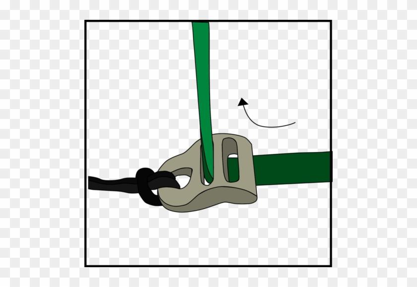 Next, Insert Hammock Strap Up Through The Slot Closest - Hammock #139764