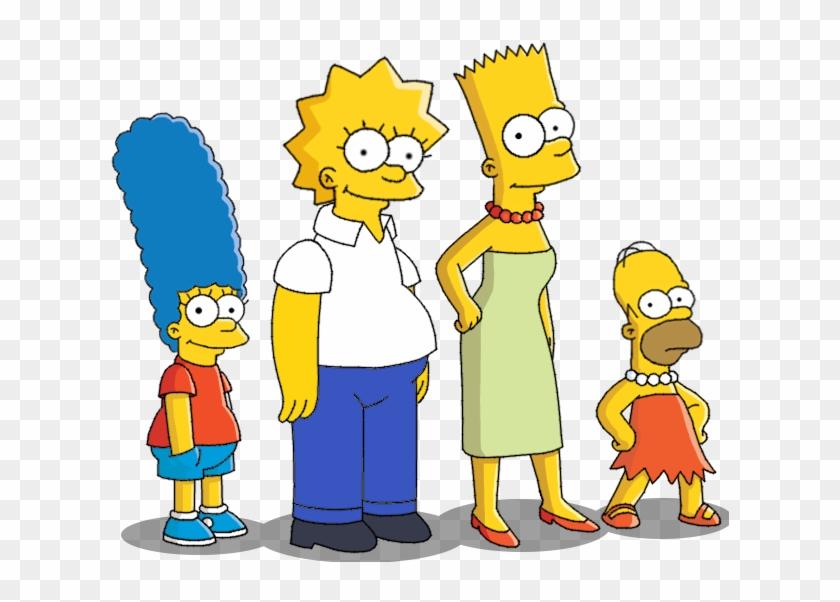 Simpsons Head Swap 2 By Insert Artistic Nick - Los Simpson Body Swap #139774