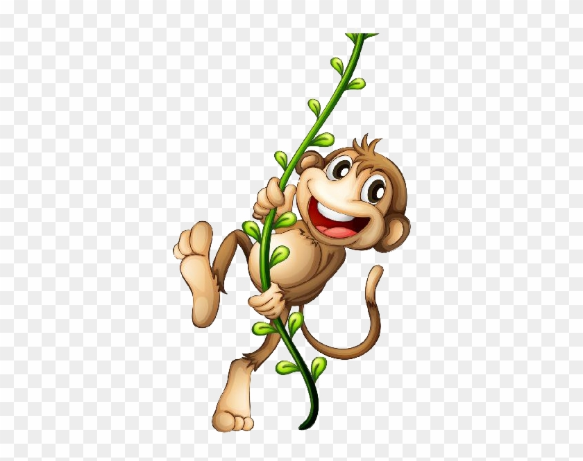 Download Png Image Report - Monkey Cartoon Png #139805