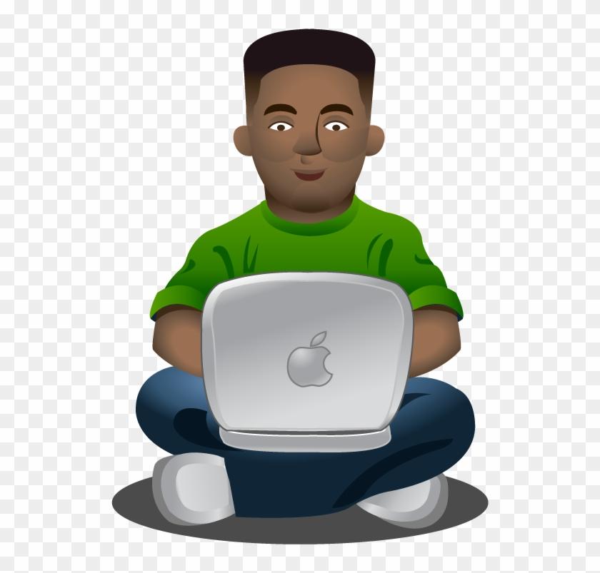 Laptop Guru - Guru Clip Art #139846