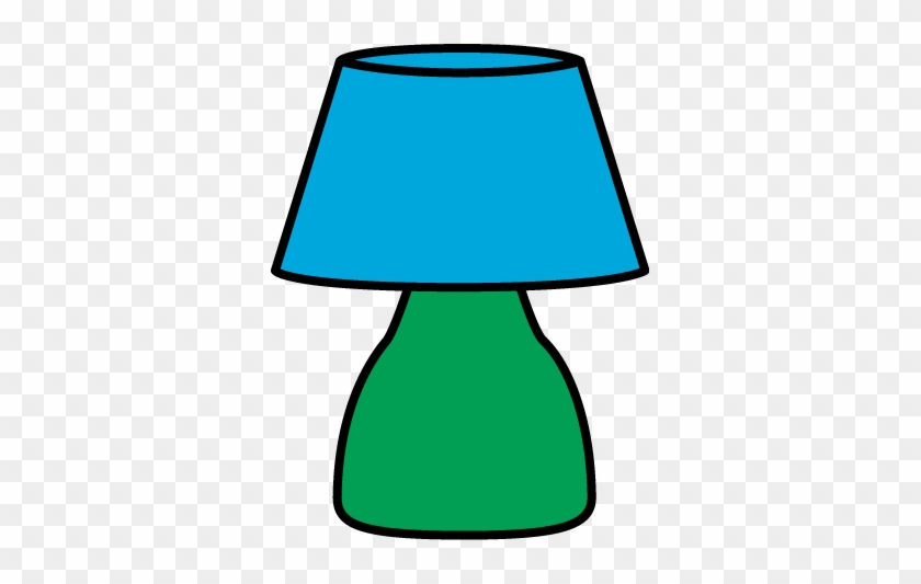 Table Lamp Desk Clipart Green