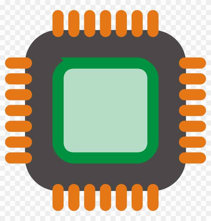 Chip Png Photo - Computer Chip Vector Png #139898