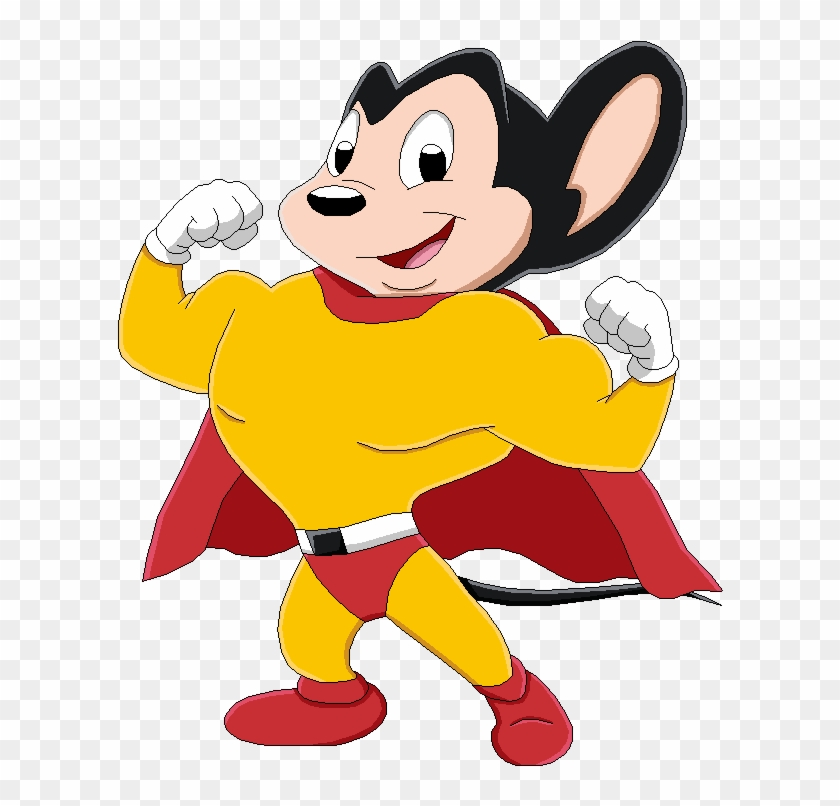 Mighty Mouse Clip Art - Mighty Mouse Cartoon Png #139909