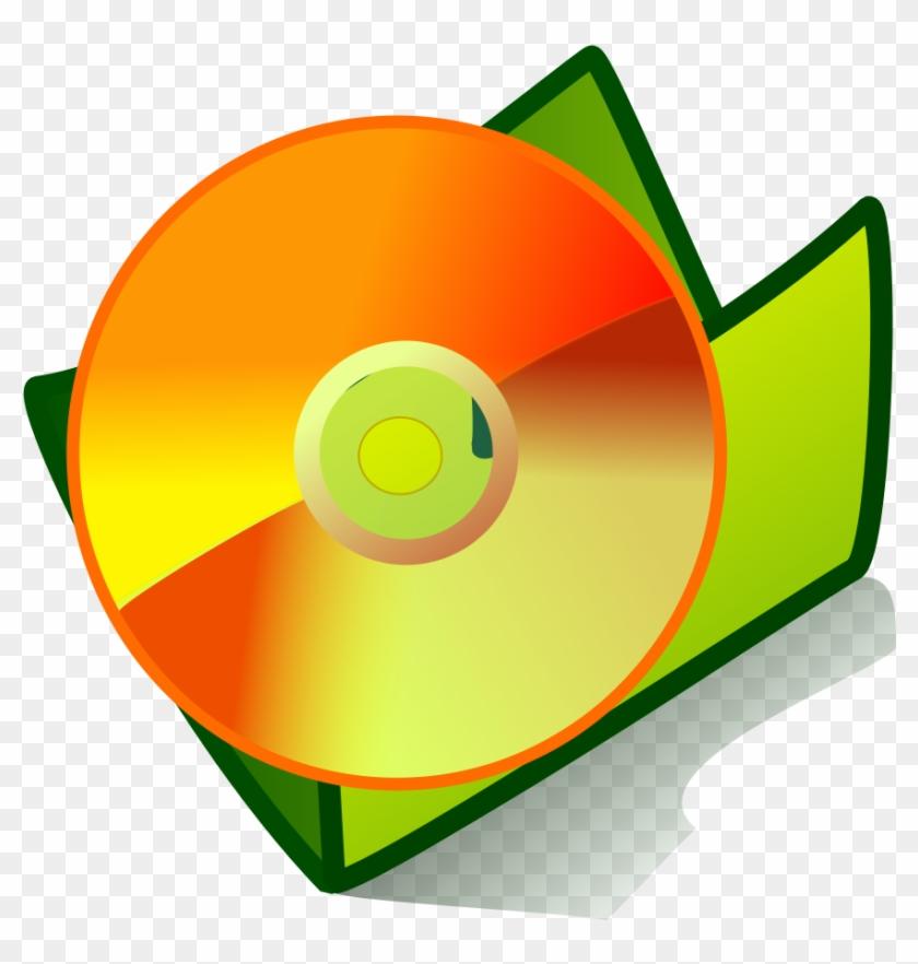 Folder Cd Clip Art - Icon Folder Vector Png #139912