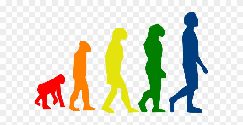 High Tech Day Trading - Evolution Clipart #139948