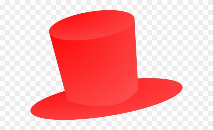 Red Top Hat Clip Art - Red Top Hat Png #139961