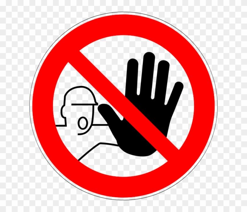 Science Laboratory Safety Signs D P006 Zutritt Für Unbefugte