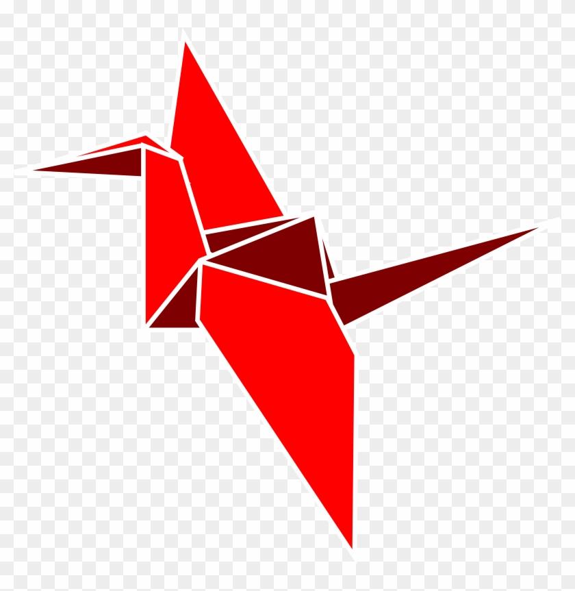 Clipart - Bird Origami Clipart #140037
