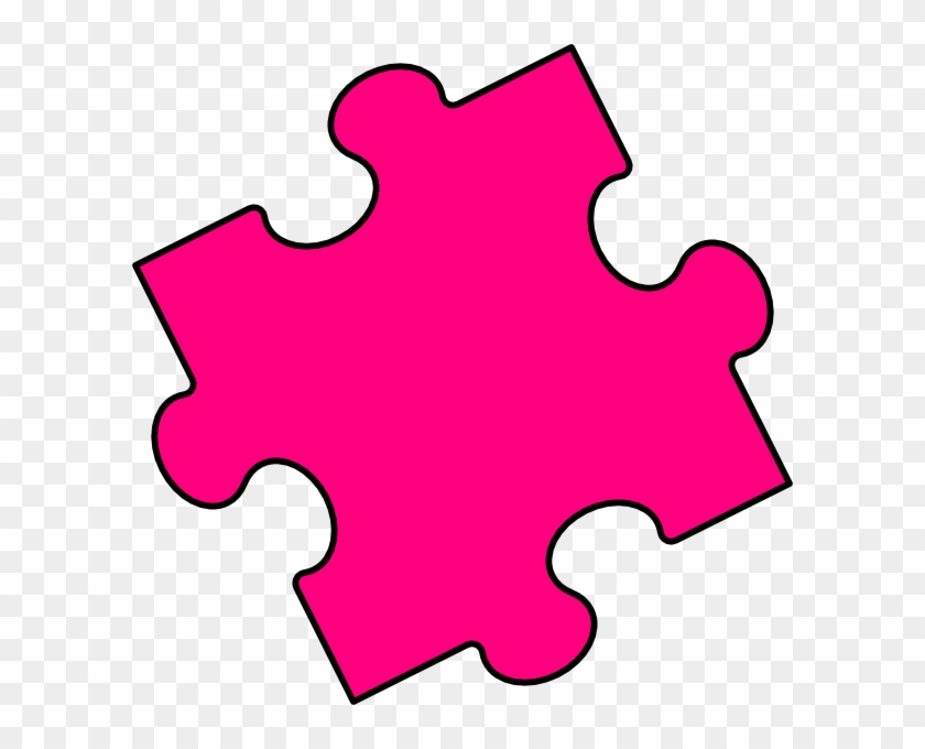 Interlocking Puzzle Clipart Kid - Puzzle Piece Blue #140126