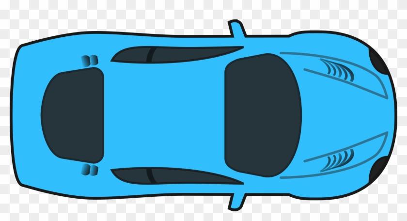 Racing Car - Cartoon Car Top View #140161