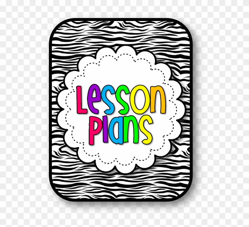 Planning Clip Art - Lesson Plan Cover Page Template #140268