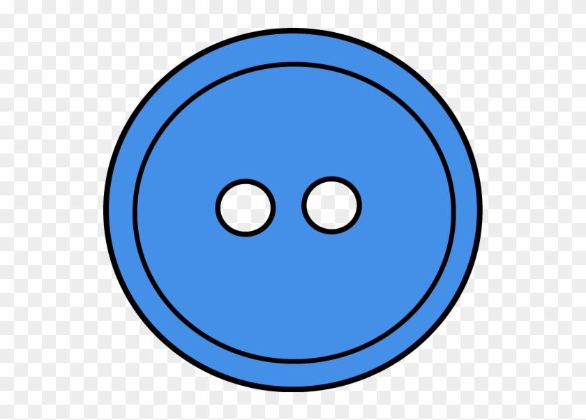 Blue Button Clip Art - Horizon Observatory #140419