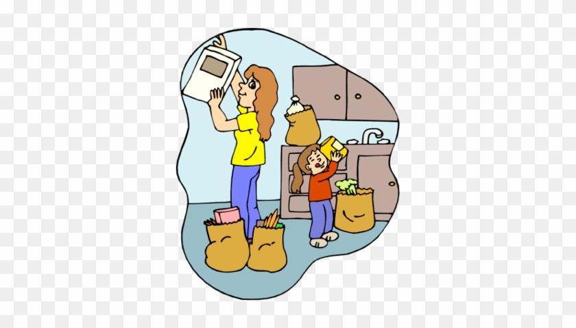 Putting Things Away - Putting Things In Order Cartoon #140481