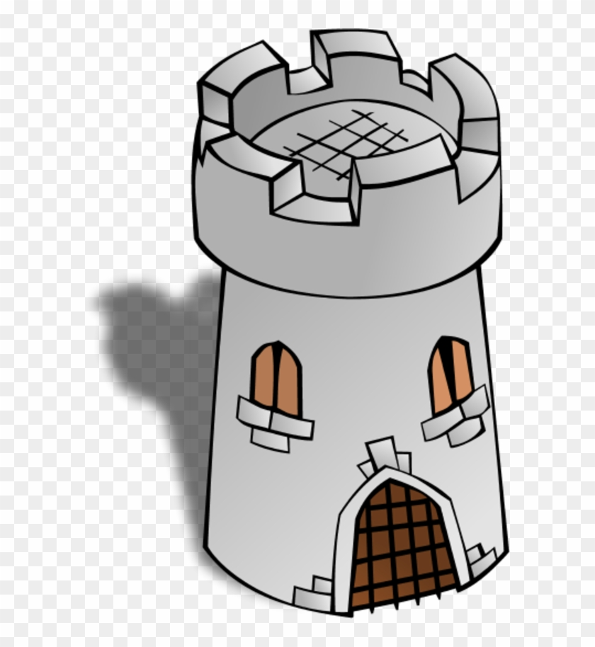 Brick House Clipart - Watchtower Clipart #140573