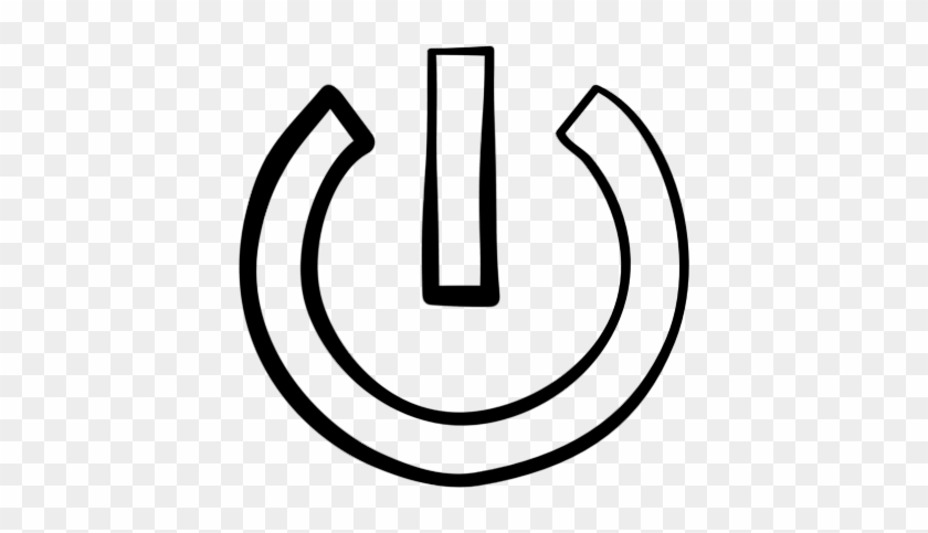 Power Button Clip Art - Symbols Of Power #140707