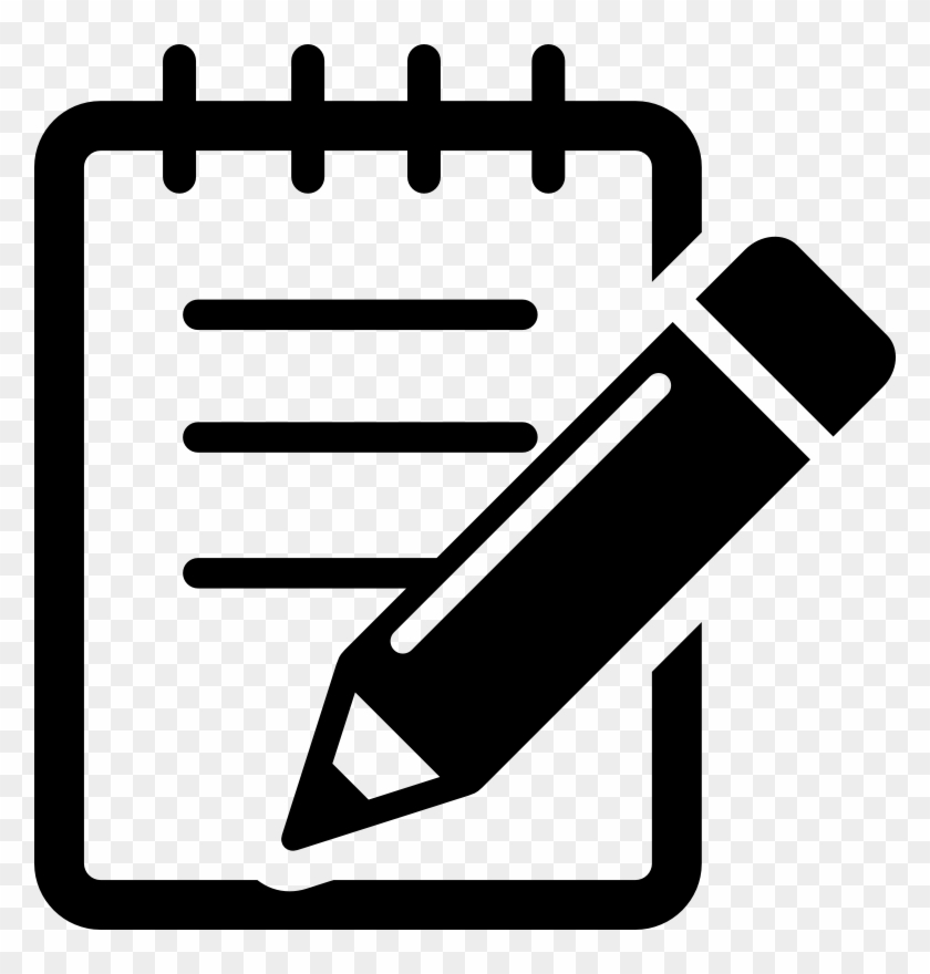 Medium Image - Pen And Notebook Icon #140714