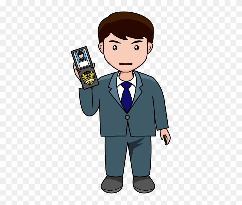Police - Police Detective Clipart #140836