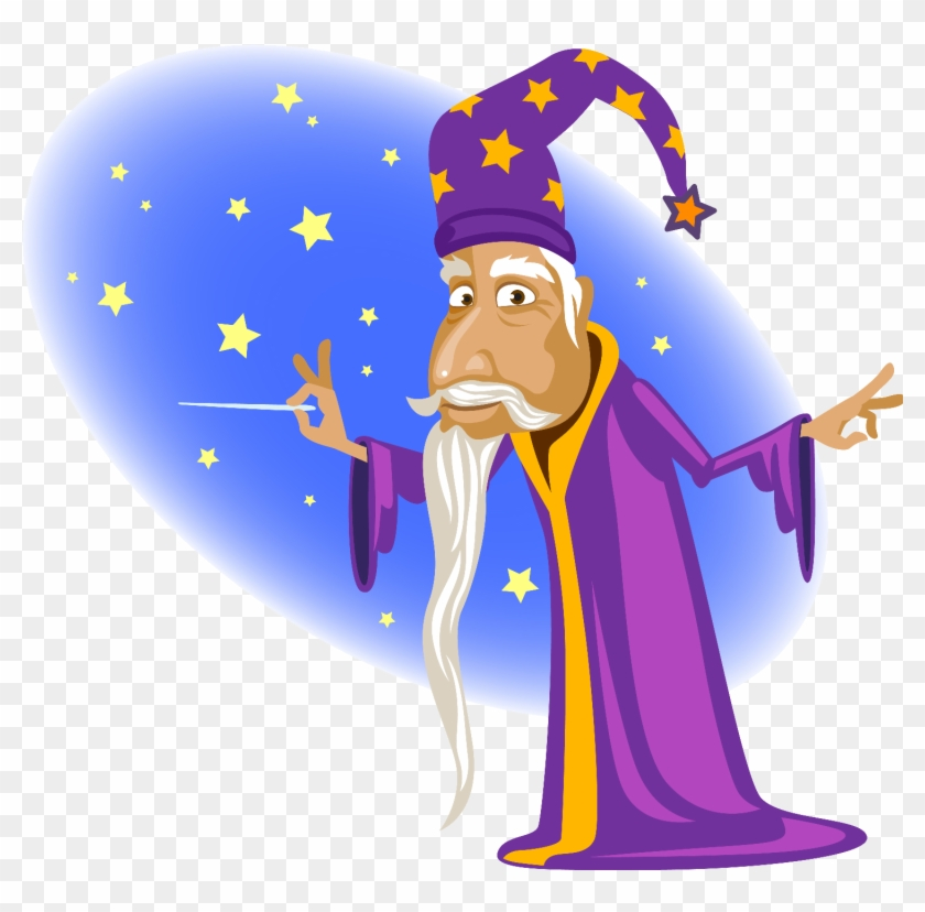 After The Fabulous Few - Astrologer Clipart #140854