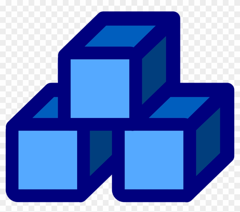 About The Data First Manifesto - Blue Blocks Clipart #140982