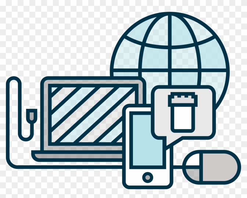All While Streamlining Communication And Data Access - Web Based Icon Png #141017