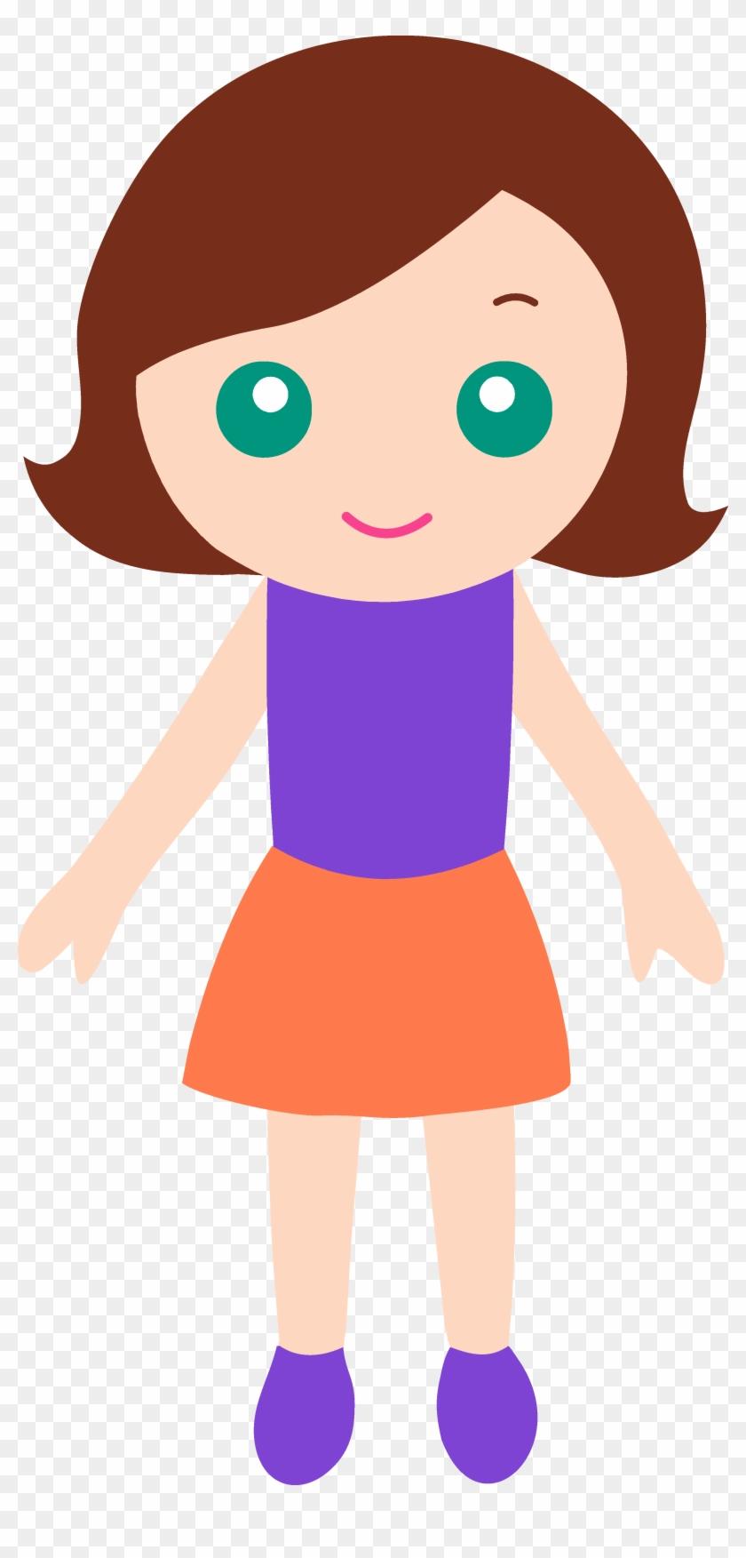 Clipart Of Little Girl Clip Art Many Interesting Cliparts - Clip Art #141089