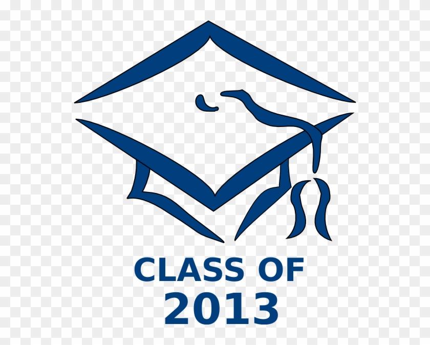 Class Of 2013 Graduation Cap Clip Art - Transparent Background Graduation Cap Clip Art #141110