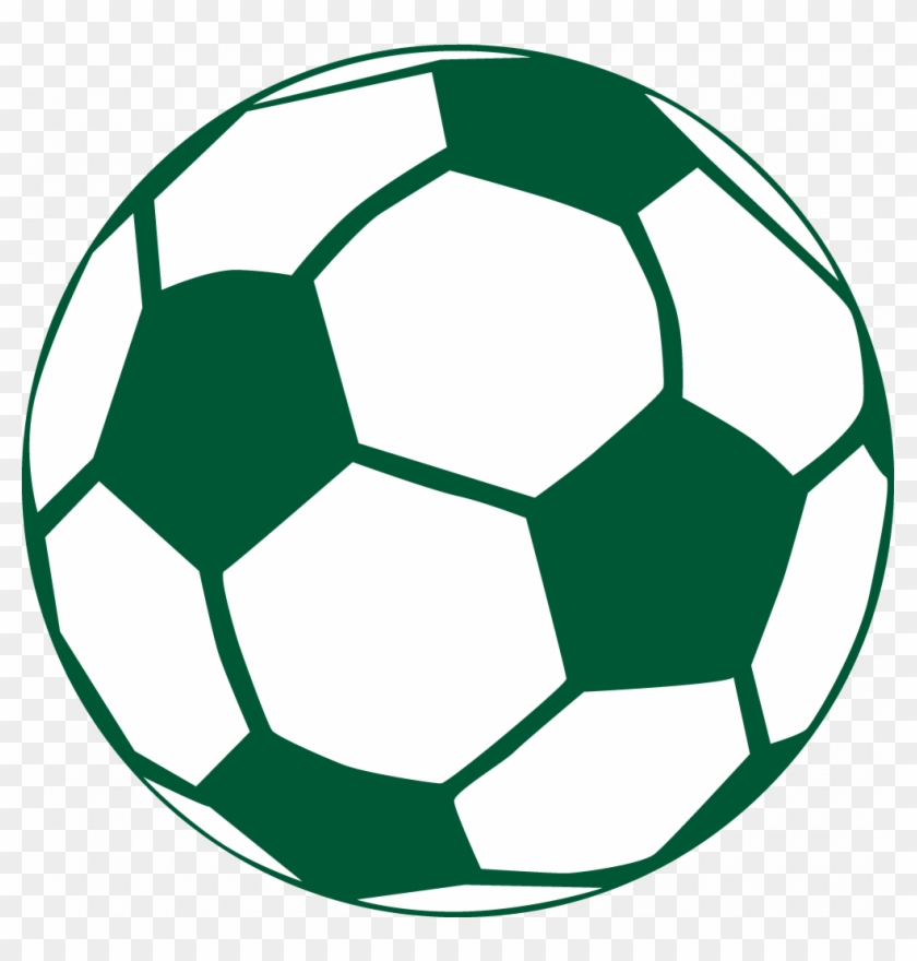 Green Soccer Ball Clip Art - Soccer Balls Coloring Pages #141189