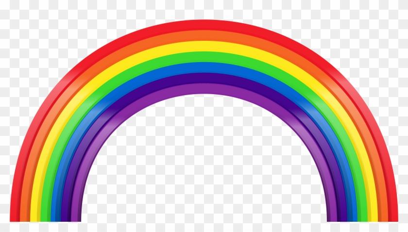 Rainbow Clip Art - Cuantos Colores Tiene El Arcoiris #141226