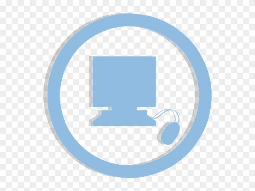 Icon Computer Sticker Clipart Blue Isolated - Circle #141249