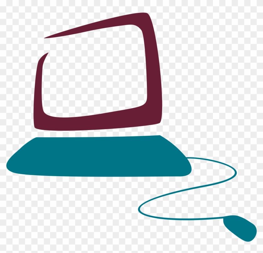 Big Image - Clip Art Computer Logo #141286