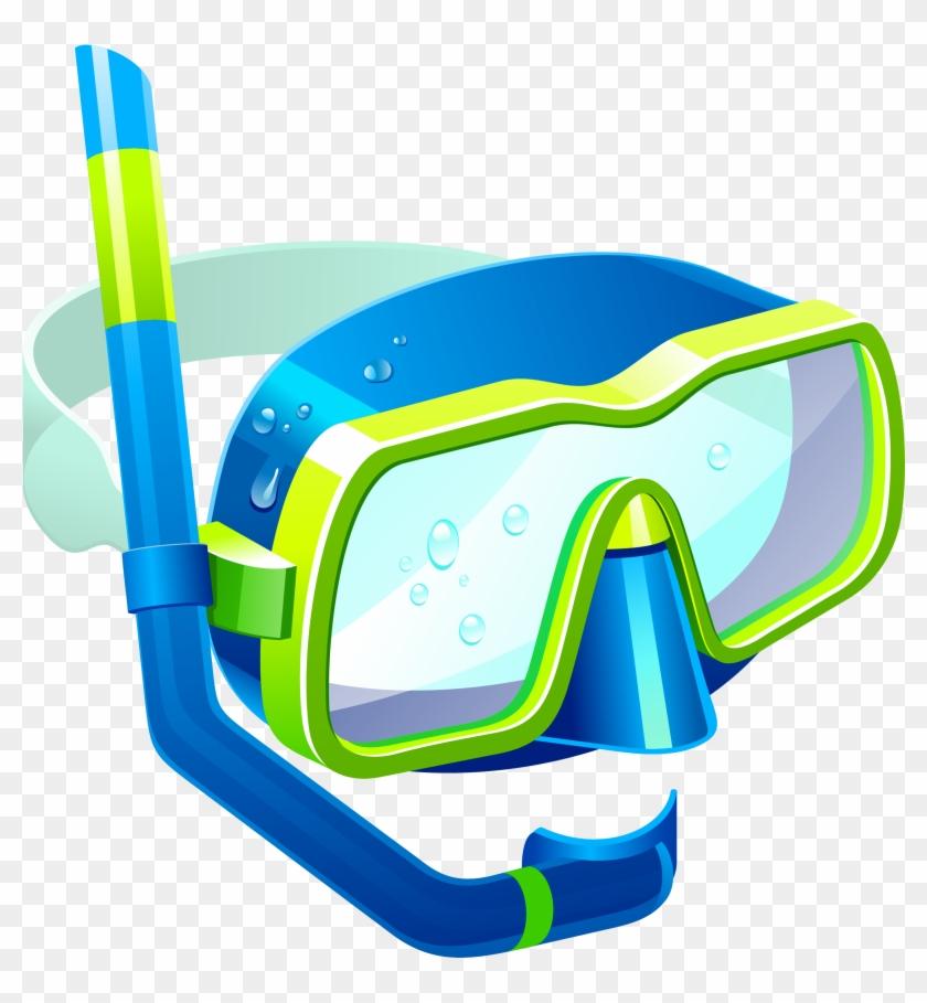 Masks Clipart Clip Art Transparent - Snorkel Mask Clipart #141289