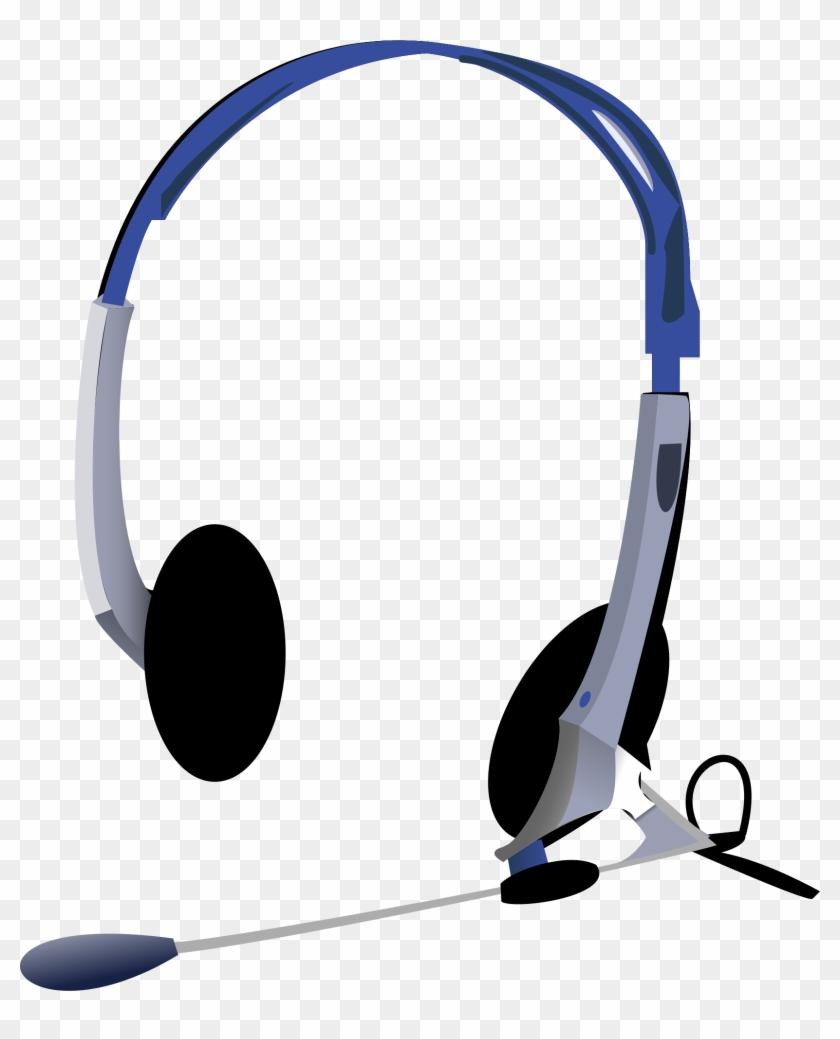 Headphone Clipart Big - Headphones Clip Art #141288