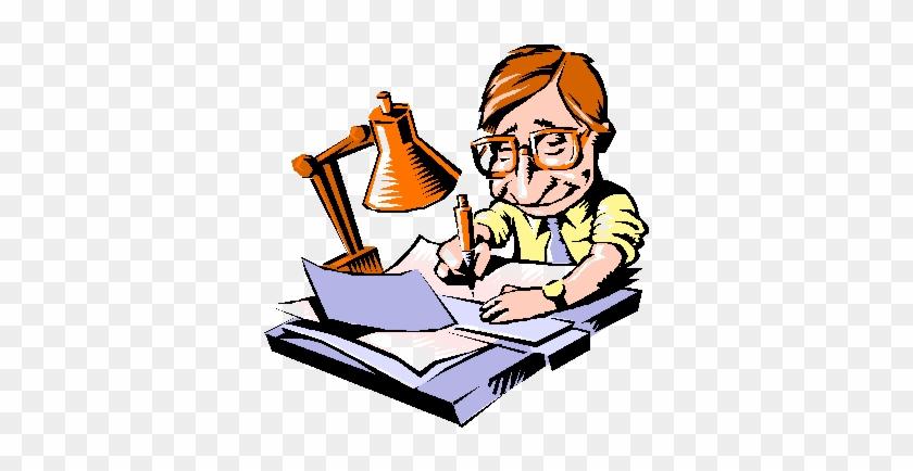Editingsoftware Clipart Critique - Paperwork Cartoon #141397
