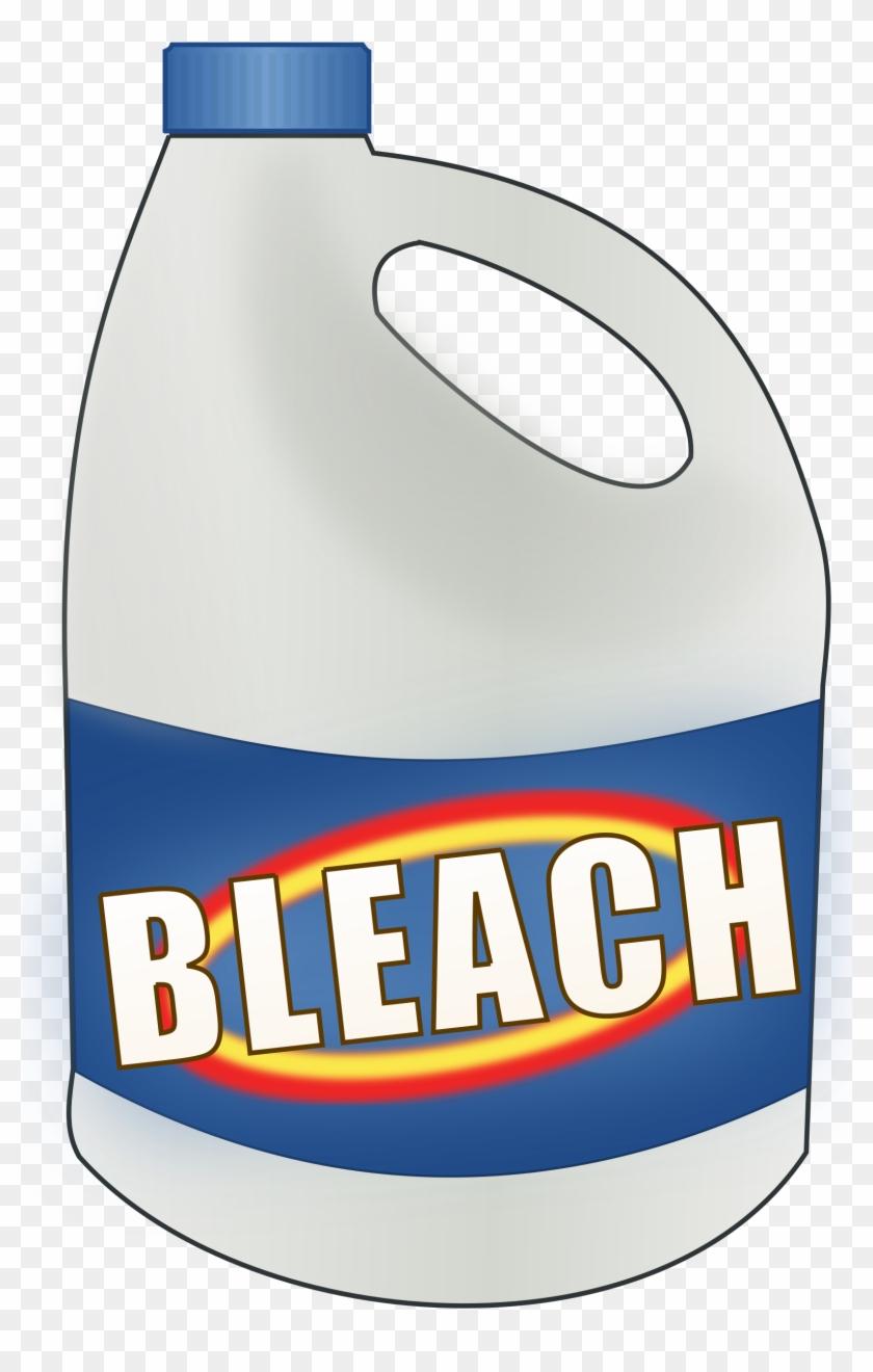 Bleach Bottle Clipart, Vector Clip Art Online, Royalty - Bleach Bottle #141436