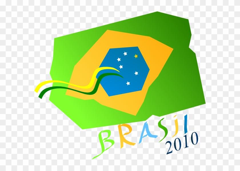 Brasil 2010 Svg Clip Arts 600 X 520 Px - Clip Art #141477