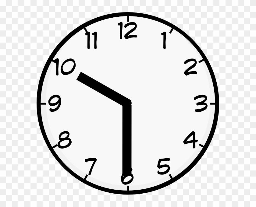 30 Clipart - Clock Face Clip Art #141543
