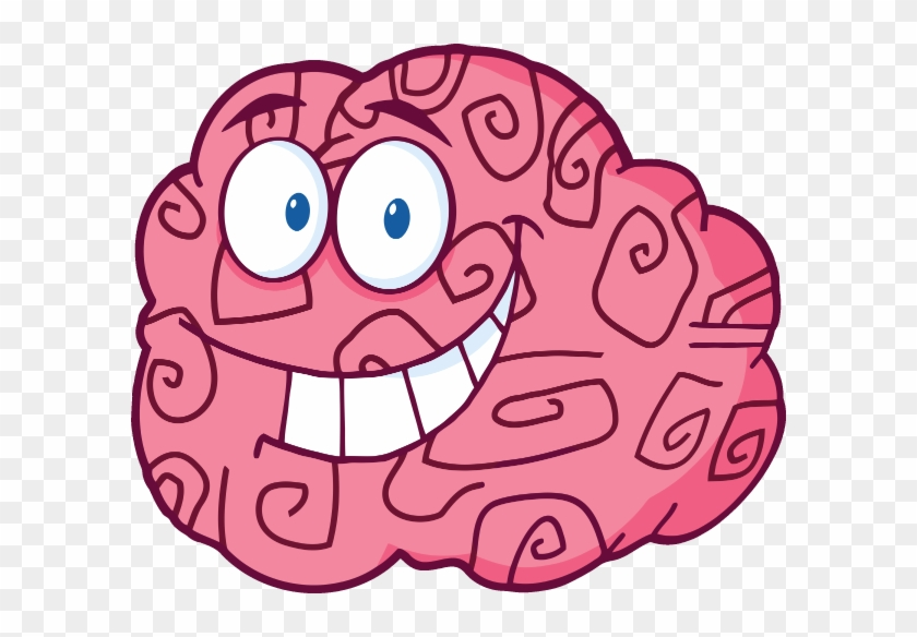 Iclipart 4499 Happy Brain Small - Part Of The Brain Responsible For Happiness #141610