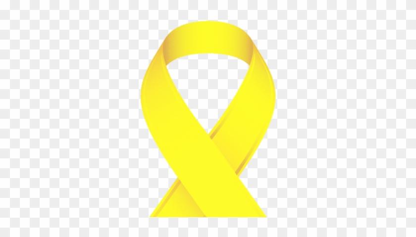 Yellow Cancer Ribbon #142081